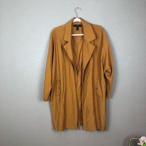 Forever 21 mustard jacket